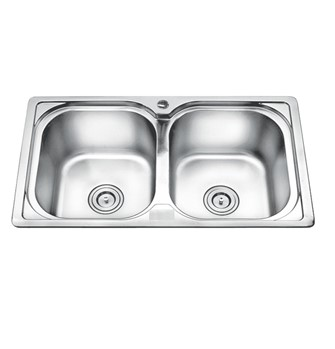 Chậu rửa chén liền khối EROWIN 8349LK SUS304